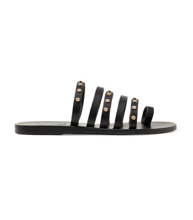Niki Studded Leather Sandals
