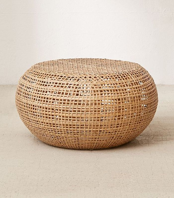 Urban Outfitters Predicts This Décor Trend Will Be Huge MyDomaine Delectable Pouf Urban Outfitters