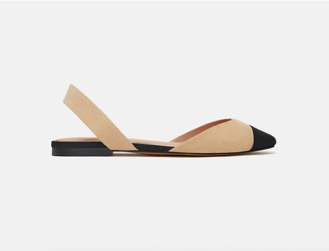Zara Slingback Shoe