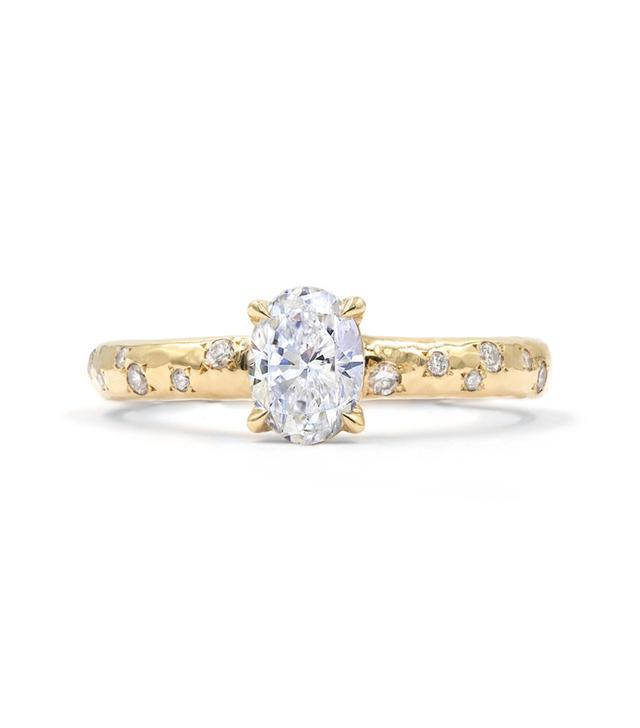 Octavia Elizabeth Diamond Ivy Banded Ring