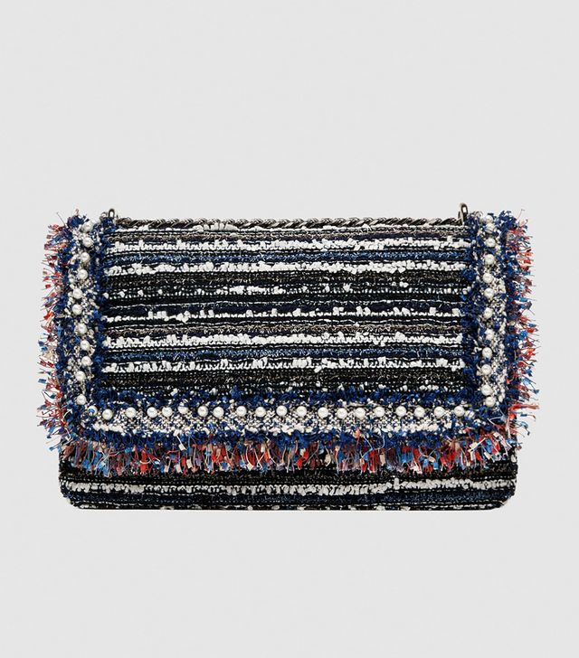 Zara Fabric Crossbody Bag