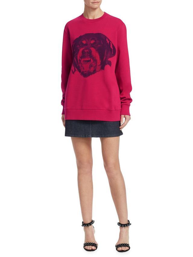 Dog Graphic Sweatshirt