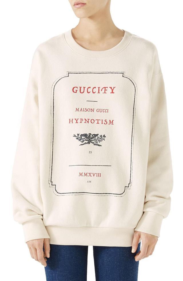 Hypnotism Graphic Sweatshirt