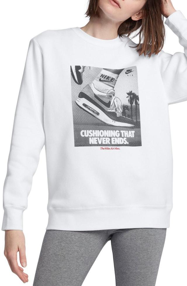 Sportswear Air Max 1 Women's Graphic Crewneck Sweatshirt