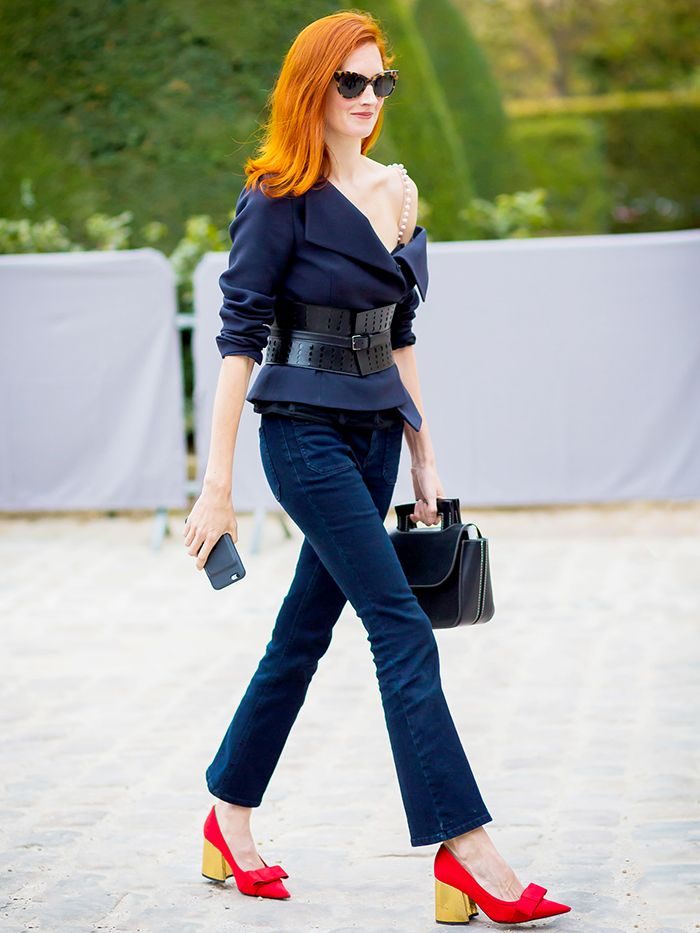f0ce615a34a 7 Rules for Wearing Cropped Flare Jeans