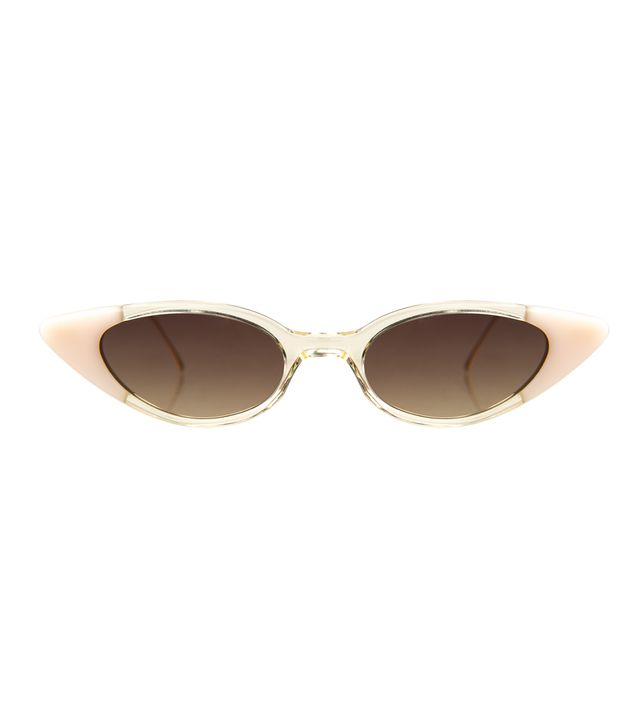 Illesteva Marianne Sunglasses in Champagne Cotton Candy