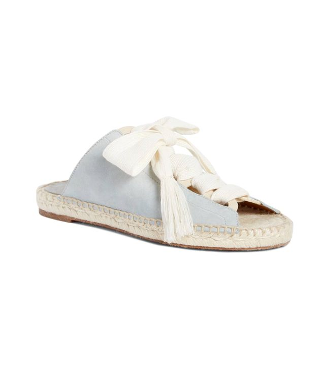 Harper Lace-Up Espadrille Slide Sandal