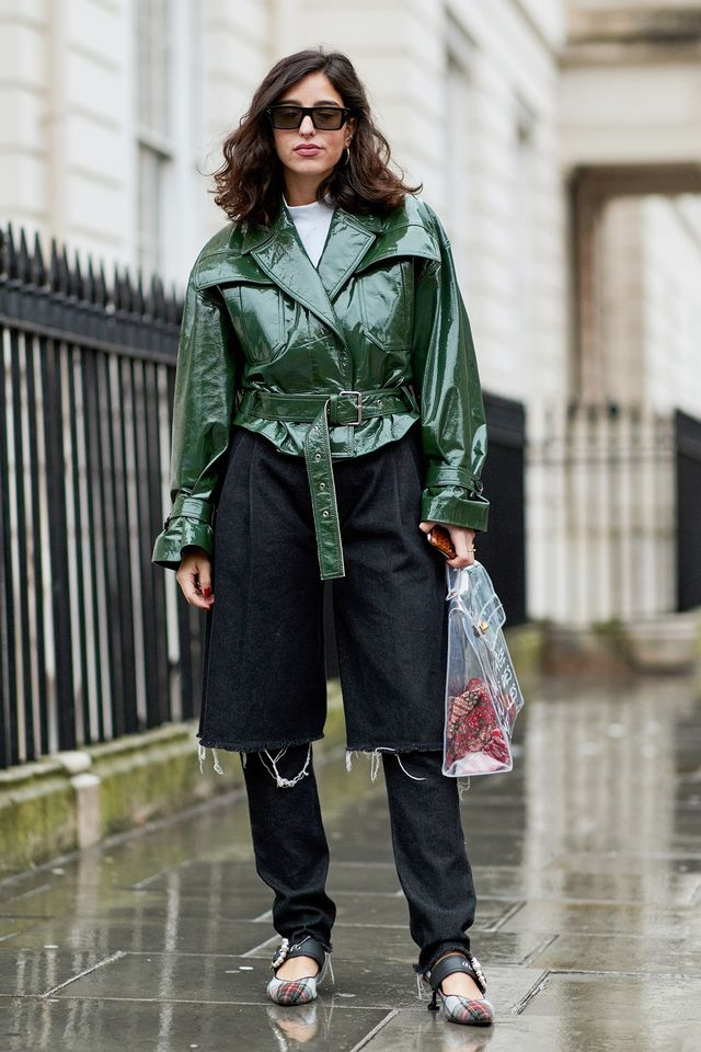 <p>Not your average leather jacket outfit. We love how this look reimagines the classics.</p>