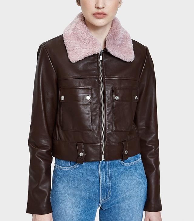 Freeman Jacket With Pink Collar