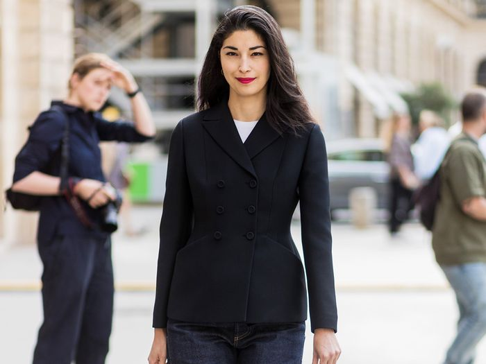 d1d2e939021 This 23-Piece Capsule Wardrobe for Work Will Change Your Life