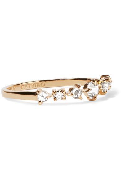 Snow Queen 14-karat Gold Diamond Ring