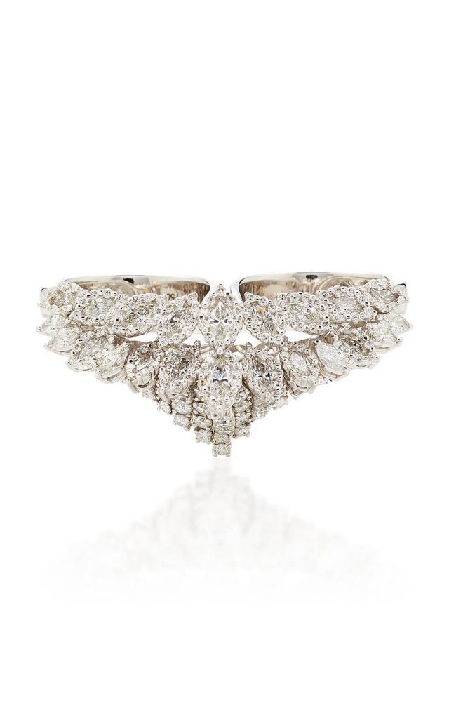 Chevalier Double Diamond Ring