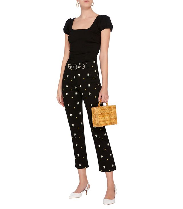 Tommy High Waisted Cropped Skinny Jean