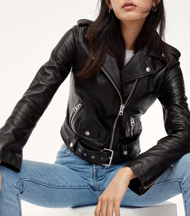 Wilfred Free Lennon Leather Biker Jacket