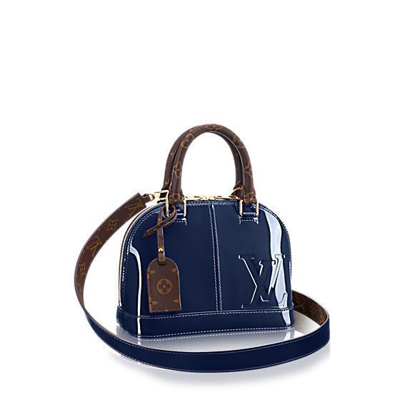 26e29c691d55 Pinterest · Shop · Louis Vuitton Alma BB Patent Leather Bag ...
