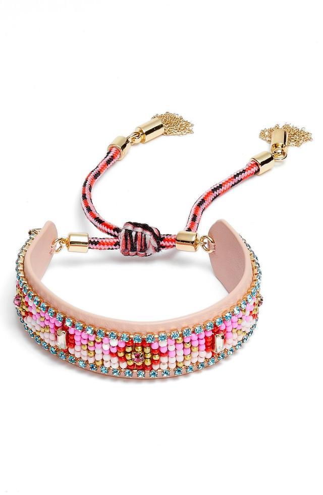 Rebecca Minkoff Seed Bead Friendship Bracelet