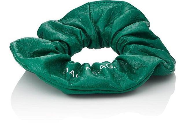 Balenciaga Arena Leather Chouchou Bracelet (