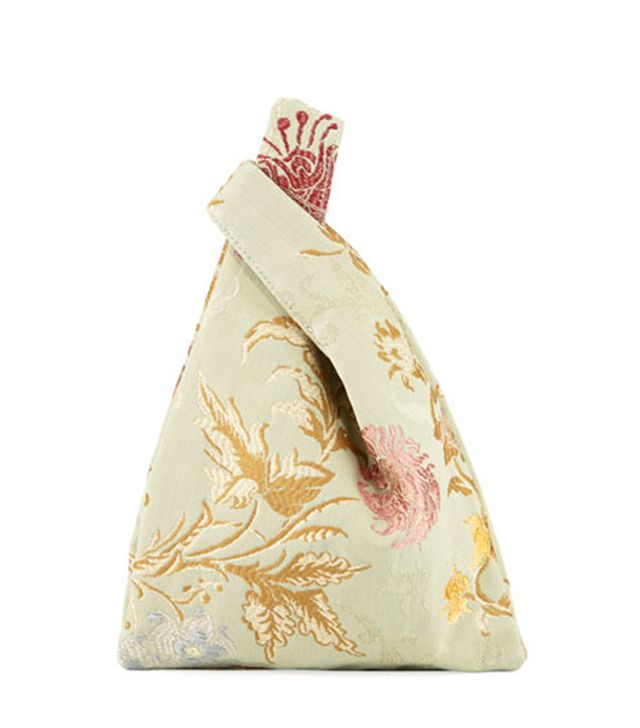 Mini Venetian Jacquard Shopper Tote Bag