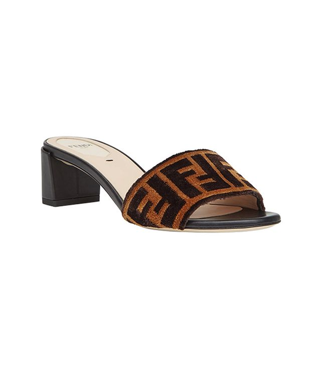 Sabots fabric sandals
