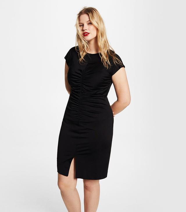 Violeta Ruched Midi Dress