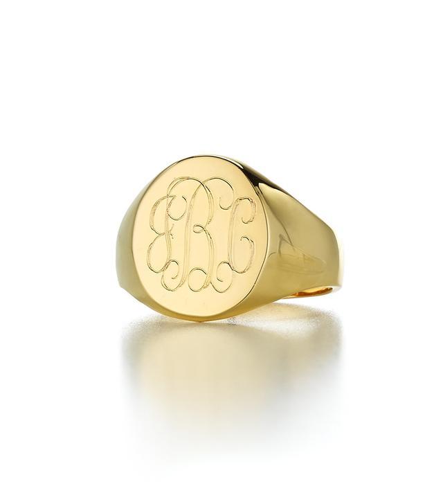 Sarah Chloe Lana Signet Ring