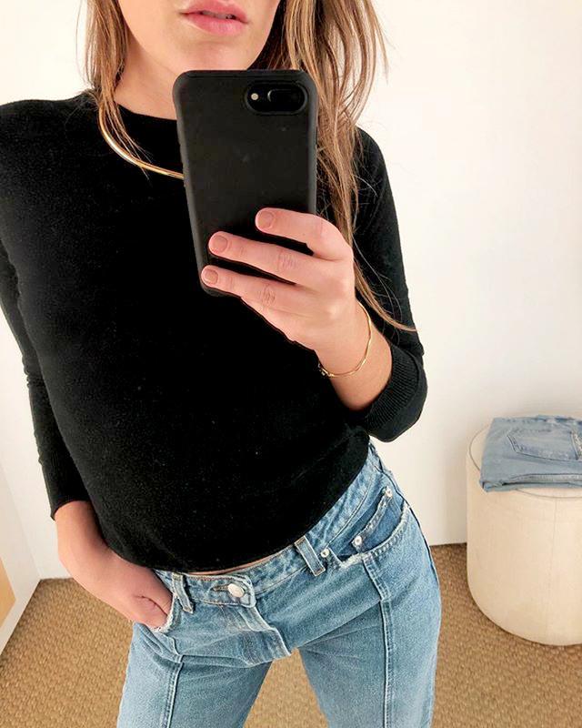 Michelle Scanga wearing jewelry
