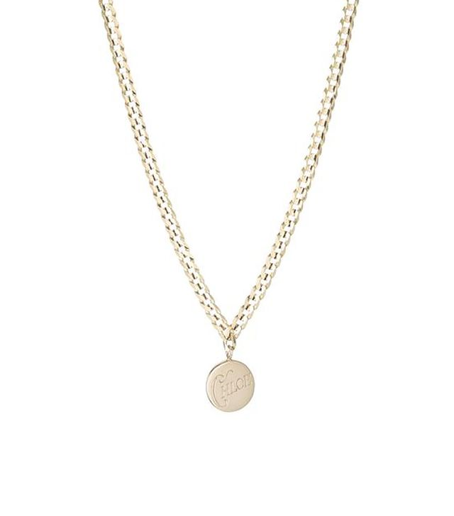 Ariel Gordon Medallion Signet Necklace