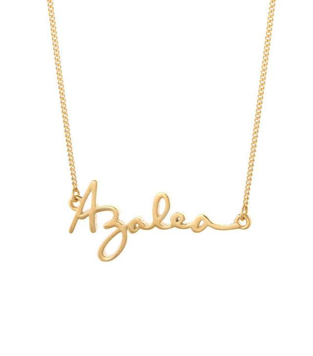 Capsul Customizable Signature Necklace
