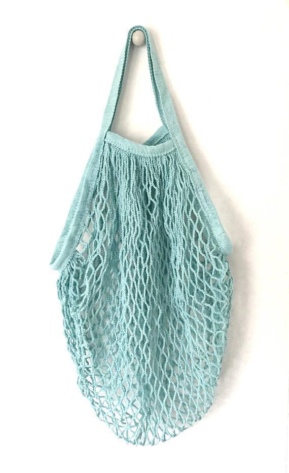 Market Bag . Reusable . Eco-friendly . Net Bag . Grocery Tote . Beach Bag