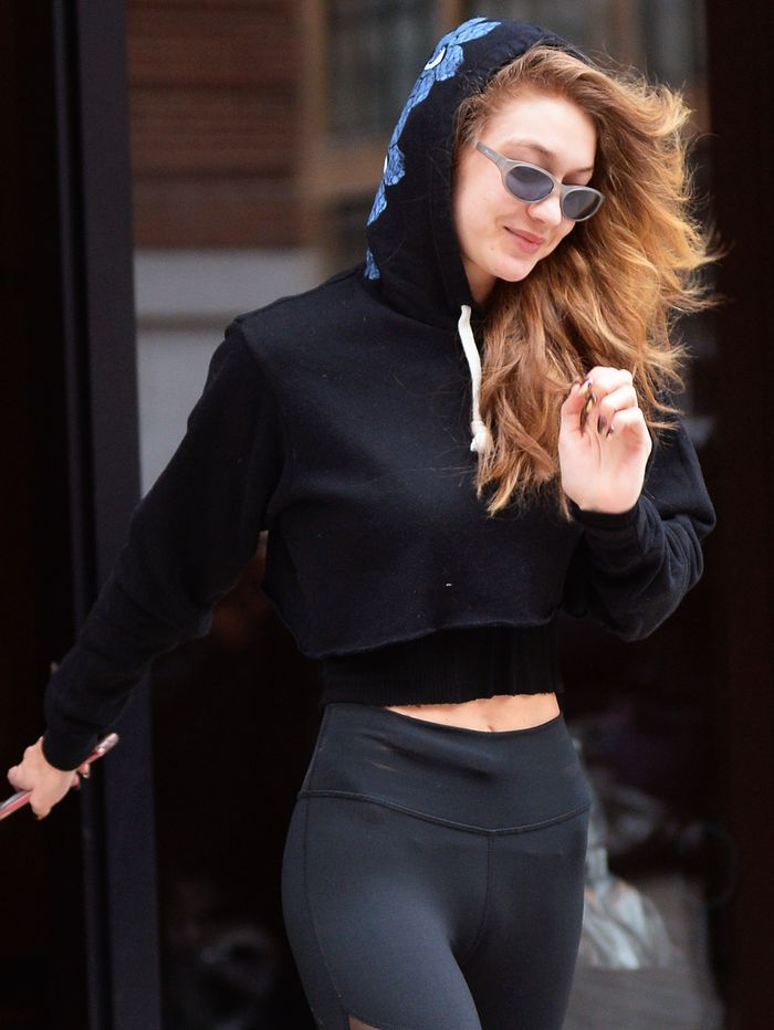 ed22a8a019 Shop Gigi Hadid's It Sneakers and Leggings | Who What Wear