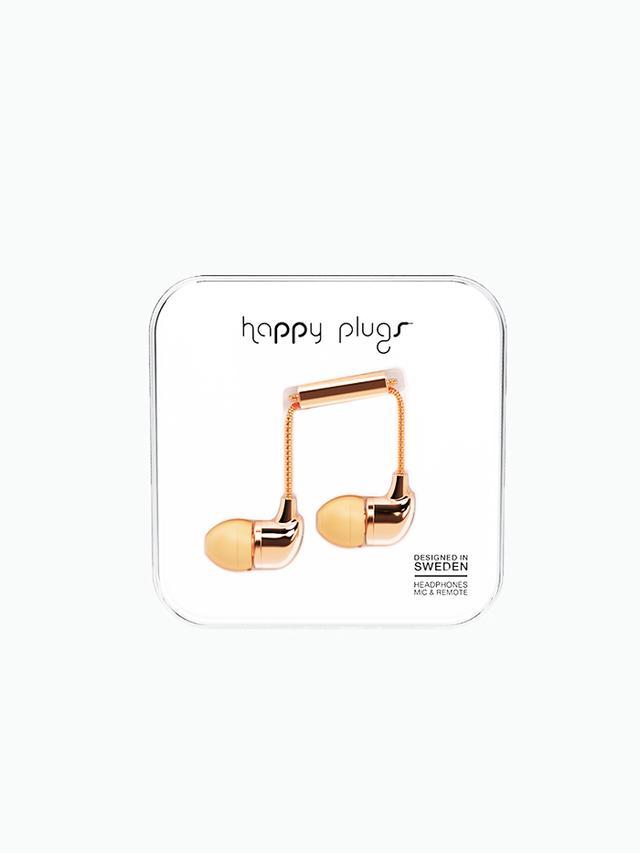 Happy Plugs Deluxe In-Ear Headphones