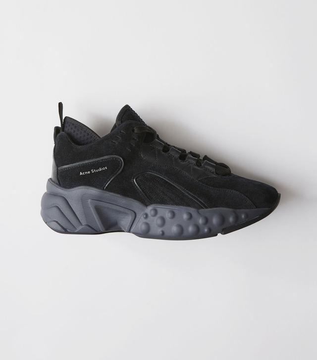 Acne Studios Manhattan Multi Black Sneakers