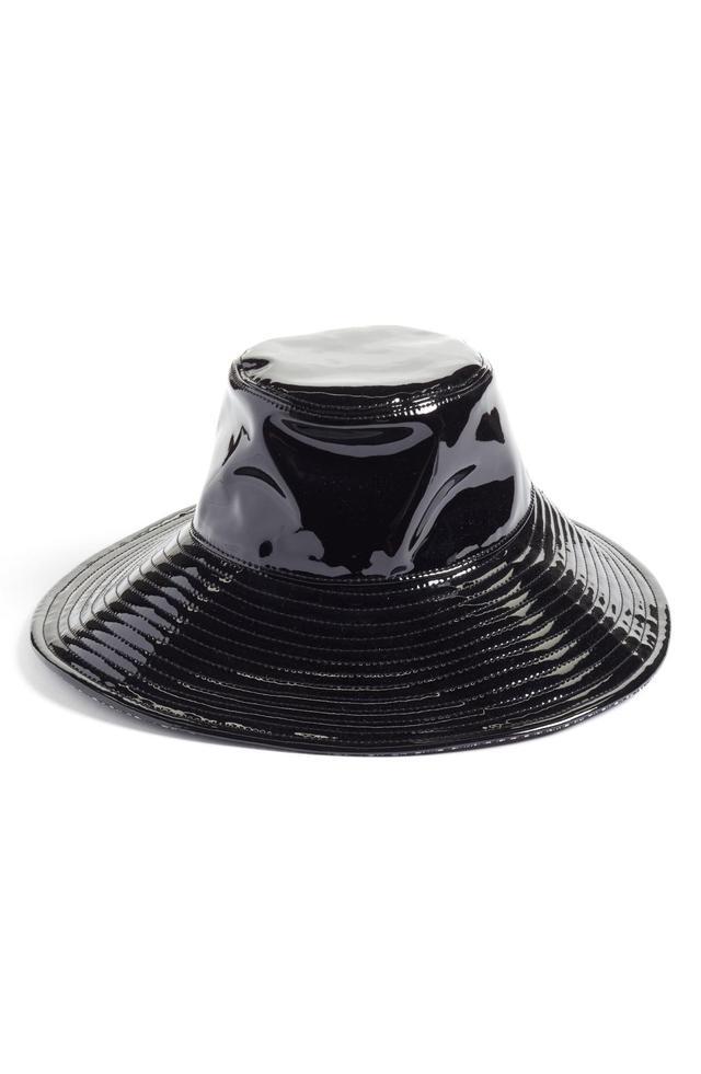 Driptidoo Patent Bucket Rain Hat - Black