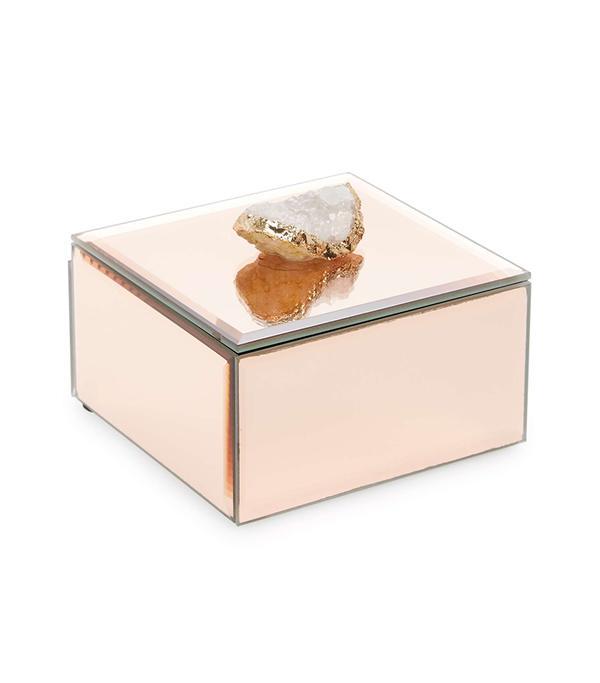 Agate Mirror Box -