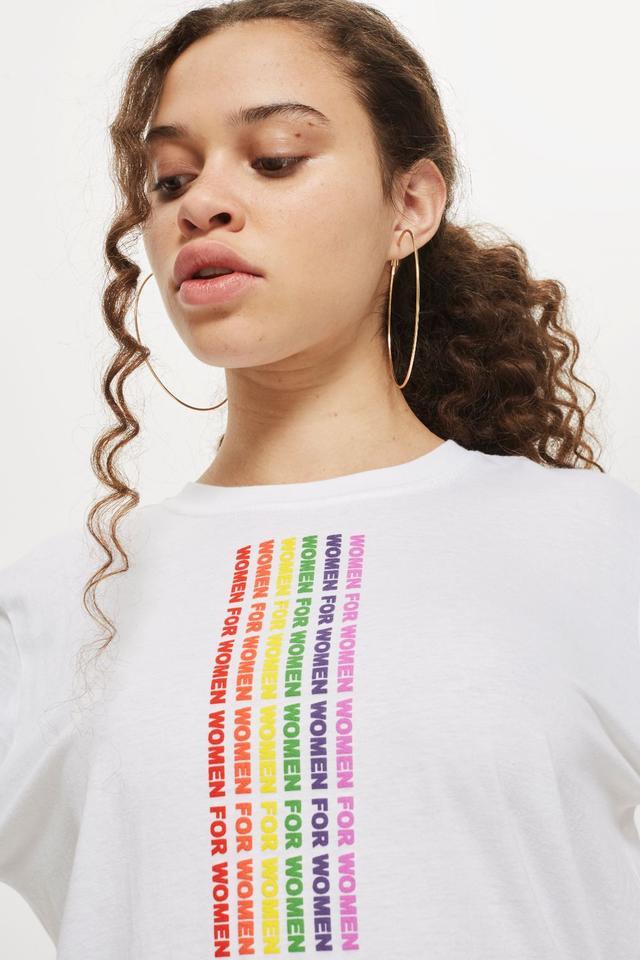 'Women For Women' Slogan T-Shirt