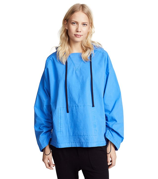 Cinched Wind Breaker