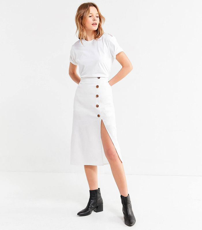 74098076a699 Under $100: The Best White Skirts of the Season | Who What Wear