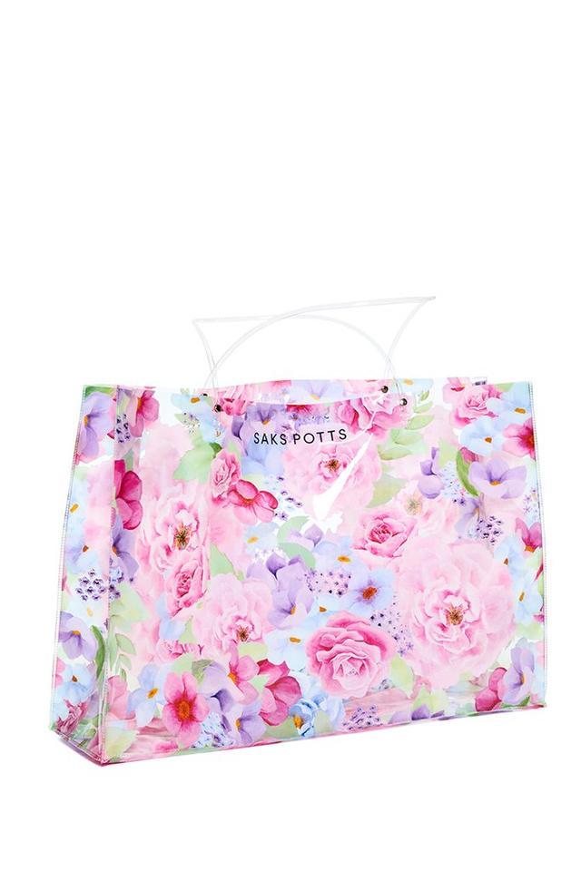 Saks Potts Plastic Flower Bag
