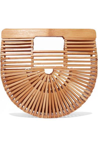 Ark Mini Bamboo Clutch