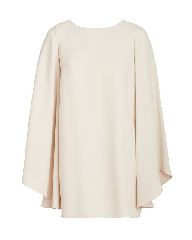 Marlene Olivier Eve Short Dress with Bell Sleeves