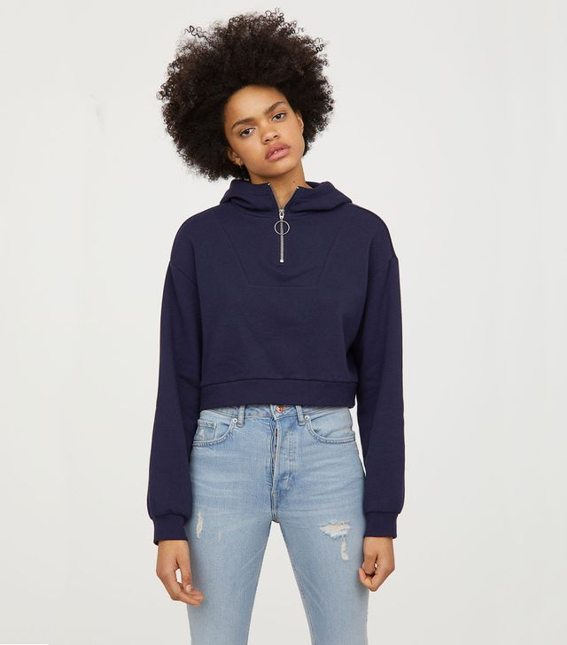 H&M Short Hooded Sweatshirt