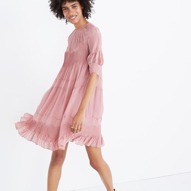 Ulla Johnson™ Embroidered Silk Evangeline Mini Dress