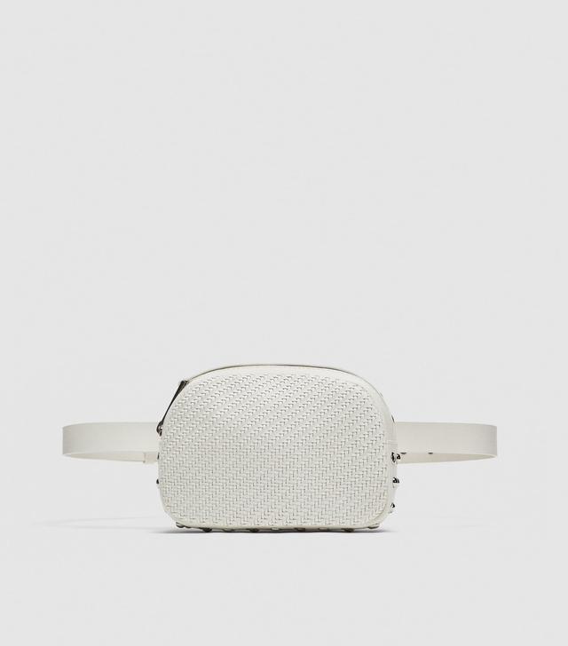 Zara Braided Crossbody Belt Bag