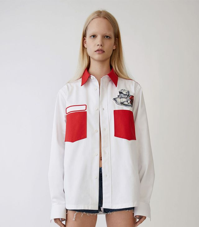 Acne Studios Seattle White/Red