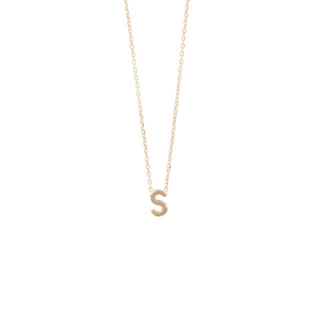 Sarah & Sebastian Petite Letter Necklace