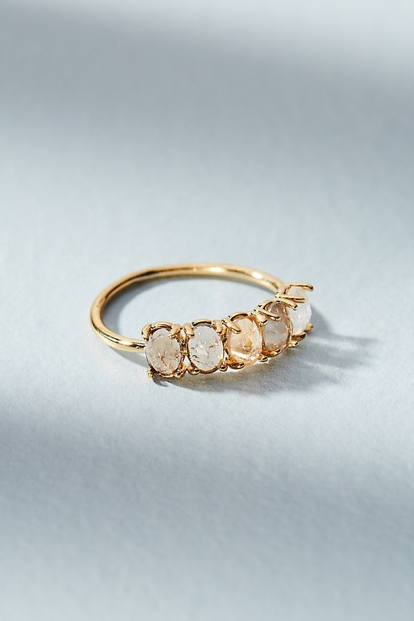 Anthropologie Ombre Bithstone Ring