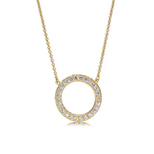Pandora Pandora Shine Hearts of Pandora Necklace