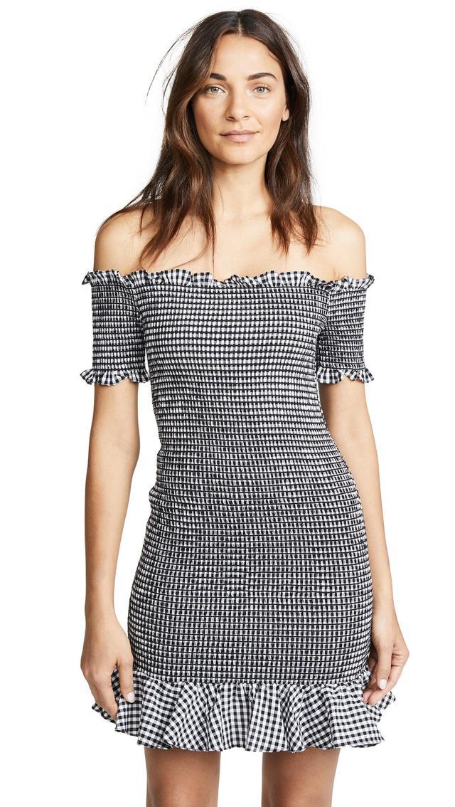 Scafati Smocked Mini Dress