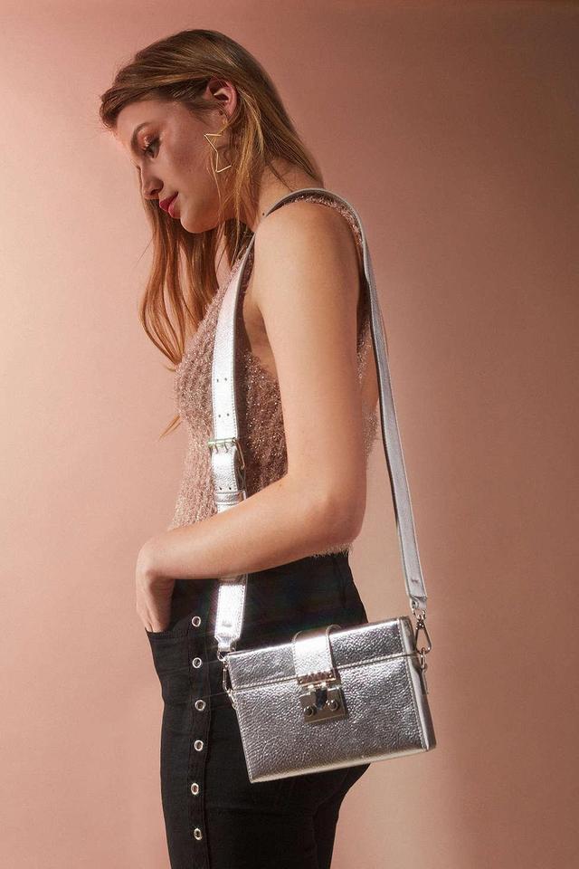 Hard Case Crossbody Bag