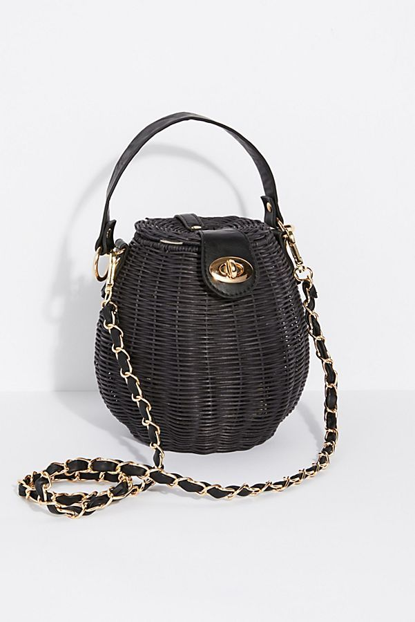 Free People Le Sable Straw Bag